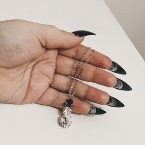 Jewelry - NWT Handmade Sabika-Style Crystal Necklace